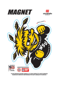 Wichita State Shockers 4X4 Magnet