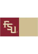Florida State Seminoles 18x18 Team Tiles Interior Rug