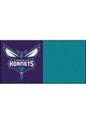 Charlotte Hornets 18x18 Team Tiles Interior Rug