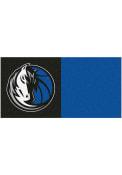 Dallas Mavericks 18x18 Team Tiles Interior Rug