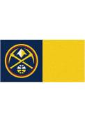 Denver Nuggets 18x18 Team Tiles Interior Rug