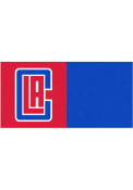 Los Angeles Clippers 18x18 Team Tiles Interior Rug