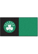Boston Celtics 18x18 Team Tiles Interior Rug
