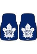 Sports Licensing Solutions Toronto Maple Leafs 2-Piece Carpet Car Mat - Blue