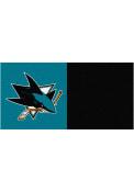 San Jose Sharks 18x18 Team Tiles Interior Rug