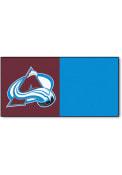 Colorado Avalanche 18x18 Team Tiles Interior Rug