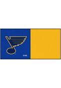 St Louis Blues 18x18 Team Tiles Interior Rug