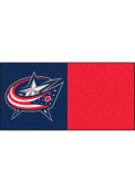 Columbus Blue Jackets 18x18 Team Tiles Interior Rug