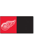 Detroit Red Wings 18x18 Team Tiles Interior Rug