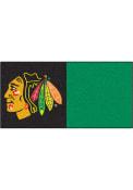 Chicago Blackhawks 18x18 Team Tiles Interior Rug