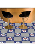 Winnipeg Jets 18x18 Team Tiles Interior Rug
