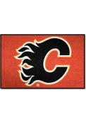 Calgary Flames 19x30 Starter Interior Rug