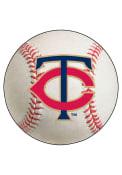Minnesota Twins 27` Baseball Interior Rug