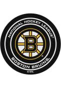 Boston Bruins 27` Puck Interior Rug