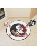 Florida State Seminoles 27` Baseball Interior Rug