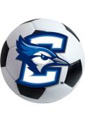 Creighton Bluejays 27 Inch Soccer Interior Rug