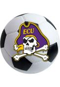 East Carolina Pirates 27 Inch Soccer Interior Rug