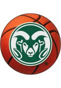 Colorado State Rams 27` Basketball Interior Rug