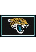 Jacksonville Jaguars 4x6 Interior Rug