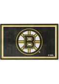 Boston Bruins 4x6 Interior Rug
