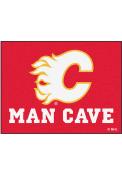 Calgary Flames 34x45 All Star Interior Rug