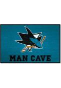 San Jose Sharks 19x30 Starter Interior Rug