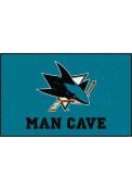 San Jose Sharks 60x96 Ultimat BBQ Grill Mat