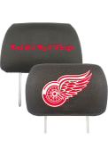 Sports Licensing Solutions Detroit Red Wings 10x13 Head Rest Auto Head Rest Cover - Black