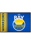 Golden State Warriors 19x30 Starter Interior Rug