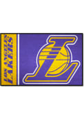 Los Angeles Lakers 19x30 Starter Interior Rug