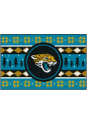 Jacksonville Jaguars 19x30 Holiday Sweater Starter Interior Rug