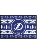 Tampa Bay Lightning 19x30 Holiday Sweater Starter Interior Rug