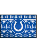 Indianapolis Colts 19x30 Holiday Sweater Starter Interior Rug