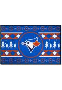 Toronto Blue Jays 19x30 Holiday Sweater Starter Interior Rug
