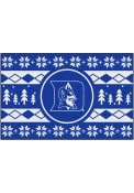 Duke Blue Devils 19x30 Holiday Sweater Starter Interior Rug