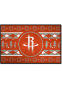 Houston Rockets 19x30 Holiday Sweater Starter Interior Rug
