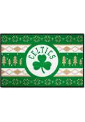 Boston Celtics 19x30 Holiday Sweater Starter Interior Rug