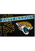 Jacksonville Jaguars 19x30 Holiday Starter Interior Rug
