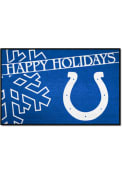 Indianapolis Colts 19x30 Holiday Starter Interior Rug