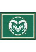 Colorado State Rams 8x10 Plush Interior Rug