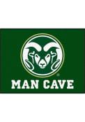 Colorado State Rams 34x42 Man Cave All Star Interior Rug