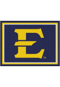 East Tennesse State Buccaneers 8x10 Plush Interior Rug