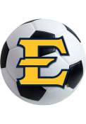 East Tennesse State Buccaneers 27 Soccer Ball Interior Rug