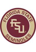 Florida State Seminoles 27 Roundel Interior Rug