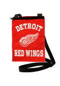 Detroit Red Wings Womens Gameday Pouch Purse - Red