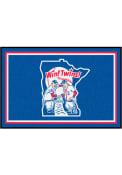 Minnesota Twins 4x6 Plush Interior Rug