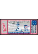 Minnesota Twins 30x72 Ticket Runner Interior Rug