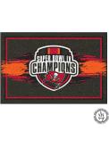 Tampa Bay Buccaneers Super Bowl LV Champion 5x8 Interior Rug