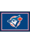 Toronto Blue Jays 4x6 Plush Interior Rug