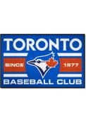 Toronto Blue Jays 19x30 Uniform Starter Interior Rug